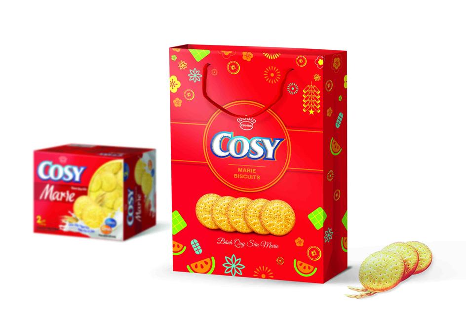 Bao bì bánh Cosy