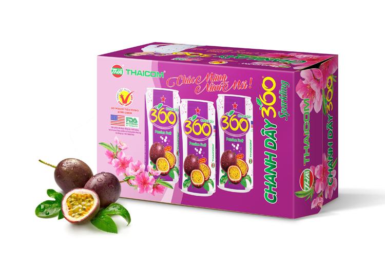 Thùng carton nước ngọt THAICOM